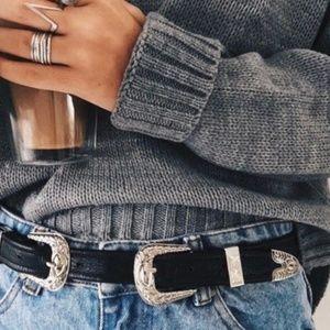 Asos Double Buckle Belt